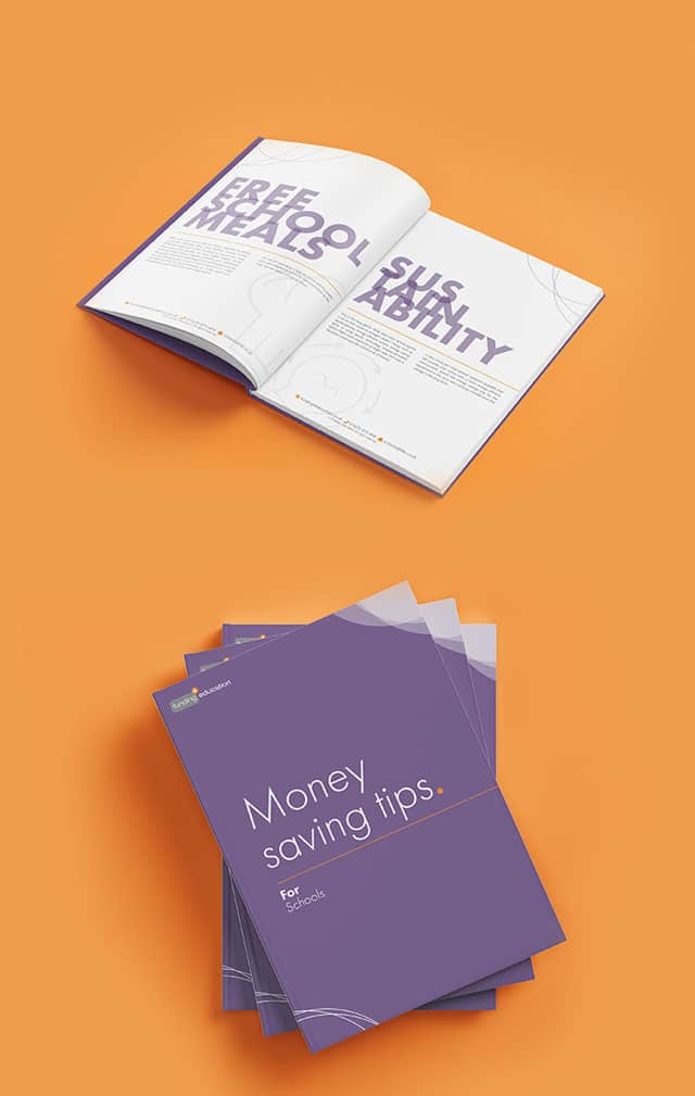 Money Saving Tips for Schools Brochure